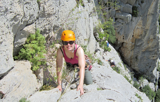 Provence Rock Climbing