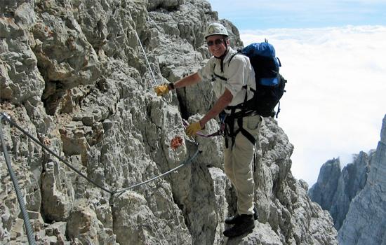 Brenta Dolomites Via Ferrata Bocchette Trail