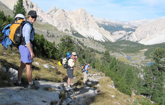 Cortina Dolomites Via Ferrata Hut Trek