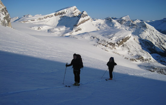 wapta ski traverse